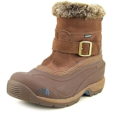 8db00758c3 The North Face Chilkat III Pull-On Boot Womens Rain Drum Brown Mediterranea  Green