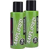 Manic Panic Electric Lizard Hair Color - Amplified - (2PK) Semi Permanent Hair Dye - Bright Neon Green Hair Color…