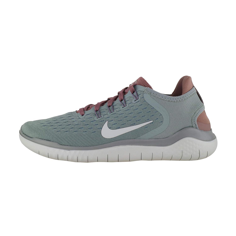 MultiCouleure (Mica vert Light argent Smokey Mauve 300) Nike WMNS Free RN 2018, Chaussures de Running Compétition Femme 39 EU