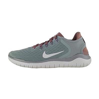 81a2b7608e023 Nike Damen WMNS Free Rn 2018 Laufschuhe Mehrfarbig (Mica Green Light  Silver Smokey