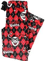Harley Quinn Womens Pajama Super Minky Plush Fleece Sleep Pant