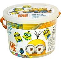 Perler Despicable Me Minions Craft Bead Bucket Activity Kit, 6005 pcs