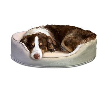 furhaven Pan Mascotas Cama ortopédica Oval Egg-Crate Tumbona Cama para Perro o Gato Cama: Amazon.es: Productos para mascotas