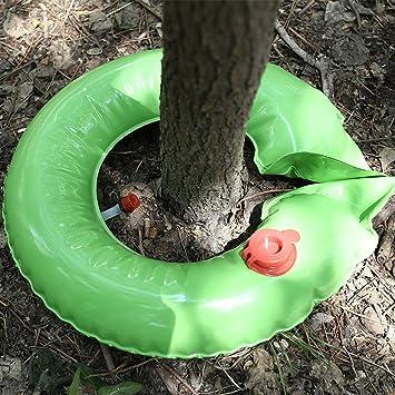 Bolsas de goteo de árbol en forma de anillo, bolsa de riego de PVC de