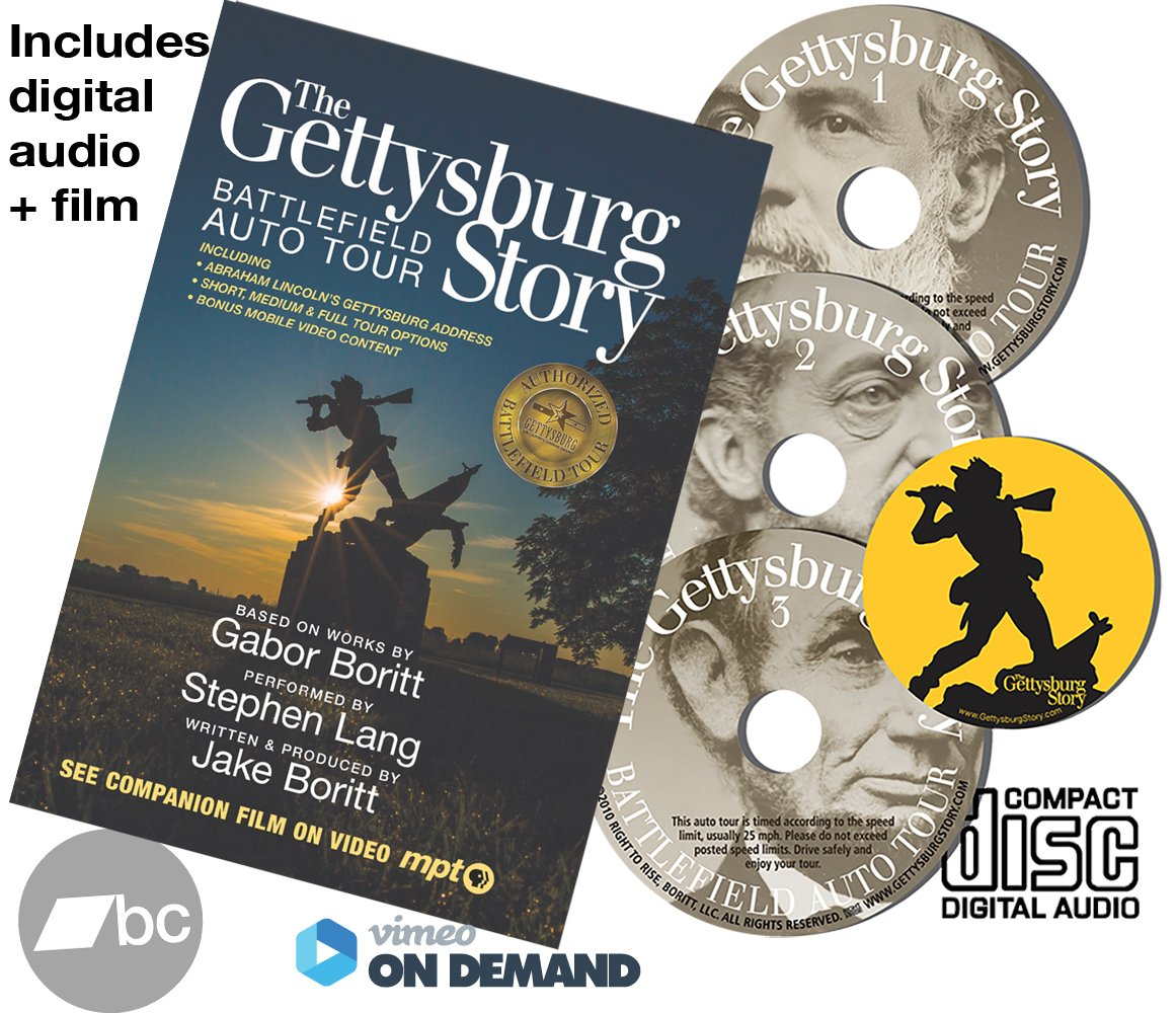 Read Online The Gettysburg Story: Battlefield Auto Tour + Film pdf epub