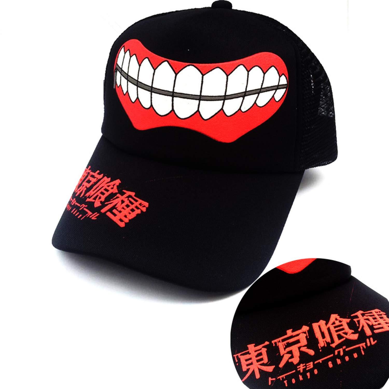 Sivane Baseball Cap Adjustable Anime Hip hop Dancer mesh Cap