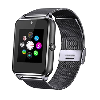 Amazon.com: Fantime Bluetooth Smart Watch Phone, Wrist Watch ...