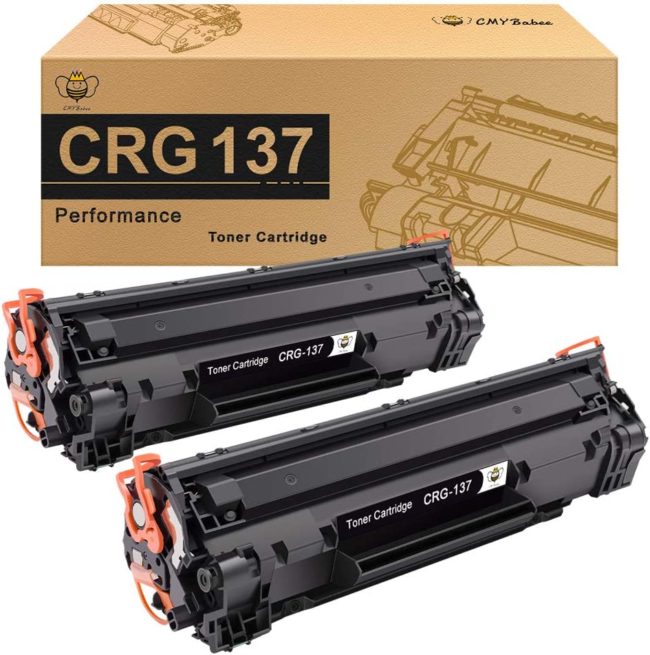 ,Black Suitable for Canon CRG-737 137 Toner Cartridge,Compatible Replace Canon MF210 211 MF212W MF223D MF232 MF215 MF216N MF226DN MF229DW MF249DW MF245DW Toner 2PCS