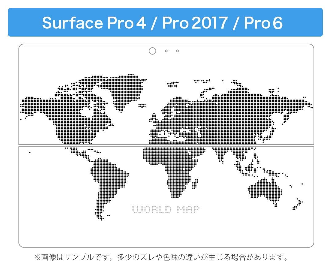 2018 Released 009290 igsticker Ultra Thin Premium Protective Back Stickers Skins Universal Tablet Decal Cover for Microsoft Surface Pro 4// Pro 2017// Pro 6