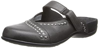 Vionic with Orthaheel Technology Womens Maisie Mary Jane Mule Black Size 5