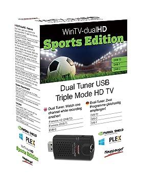Hauppauge 01663 - Reloj WinTV con Receptor de TV HD (Pantalla de Alta definición), Color Negro: Hauppauge: Amazon.es: Informática