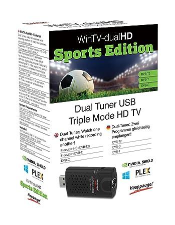 Hauppauge 01663 WinTV Watch One Freeview HD TV Reciever - Black
