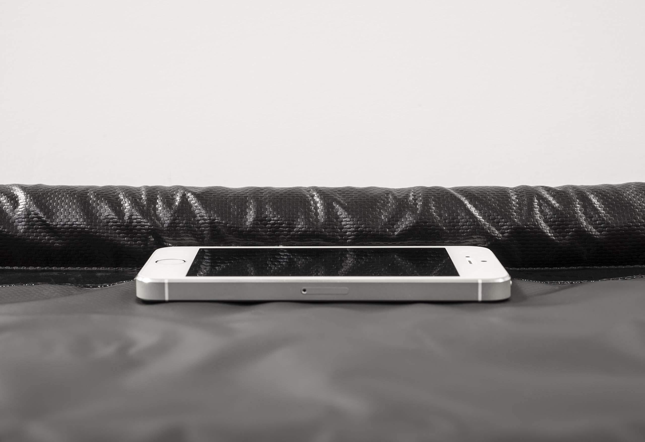 AutoFloorGuard AFGS-7916 Black 7'9'' x 16' AFG Compact Size Containment mat by AutoFloorGuard (Image #4)