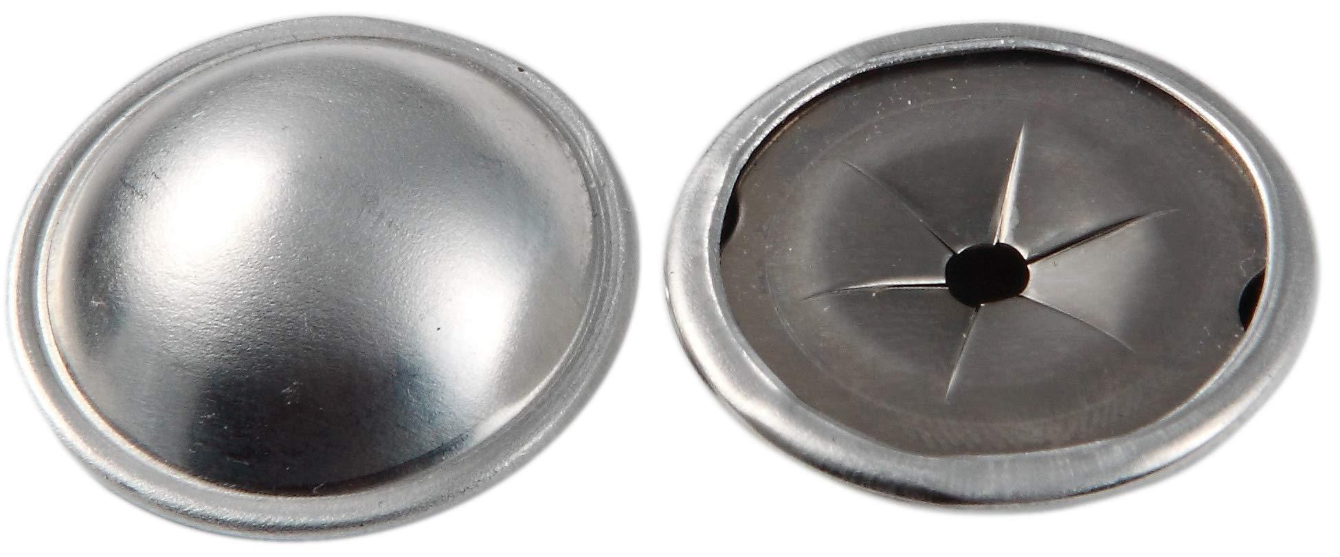 Insulation Dome Cap Washers (100, Aluminum)