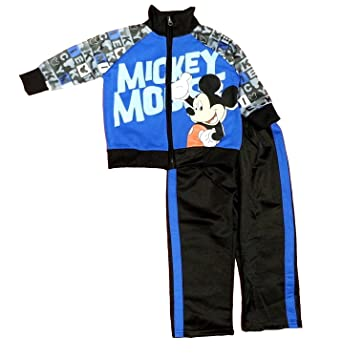Amazon.com  Disney Baby Boys  Mickey Mouse Infant 2 Piece Set ... 85d4fce66