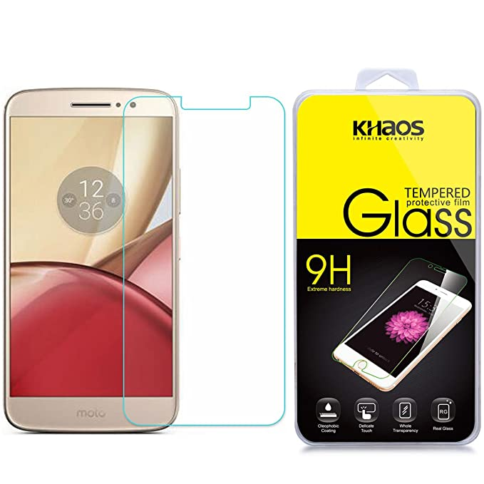 Amazon com: KHAOS [Tempered Glass] Screen Protector for Motorola