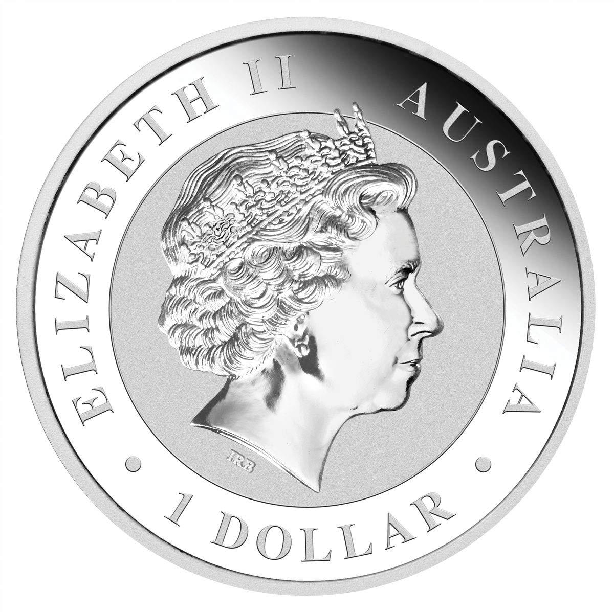 2019 AU Kookaburra 1oz .9999 Fine Silver Coin Dollar Uncircualted Mint