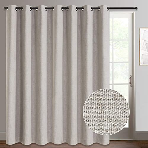 Rose Home Fashion Sliding Door Curtain