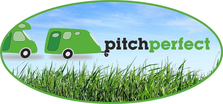 Pitch Perfect Integriertes LED-Nivelliersystem f/ür Wohnwagen und Wohnmobile