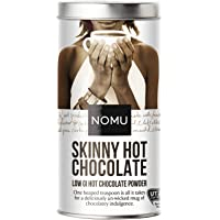 NOMU Skinny Hot Chocolate Powder (33 cups) | 20 Calories only, Low GI, High Protein, Low Sugar Diet Drink