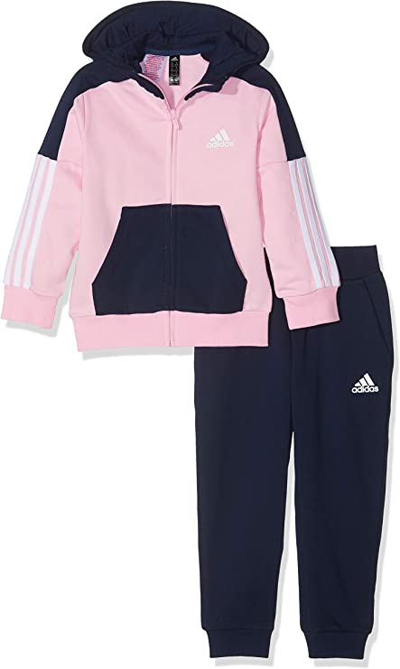 adidas LK Ft Survêtement Fille, Rose, 140