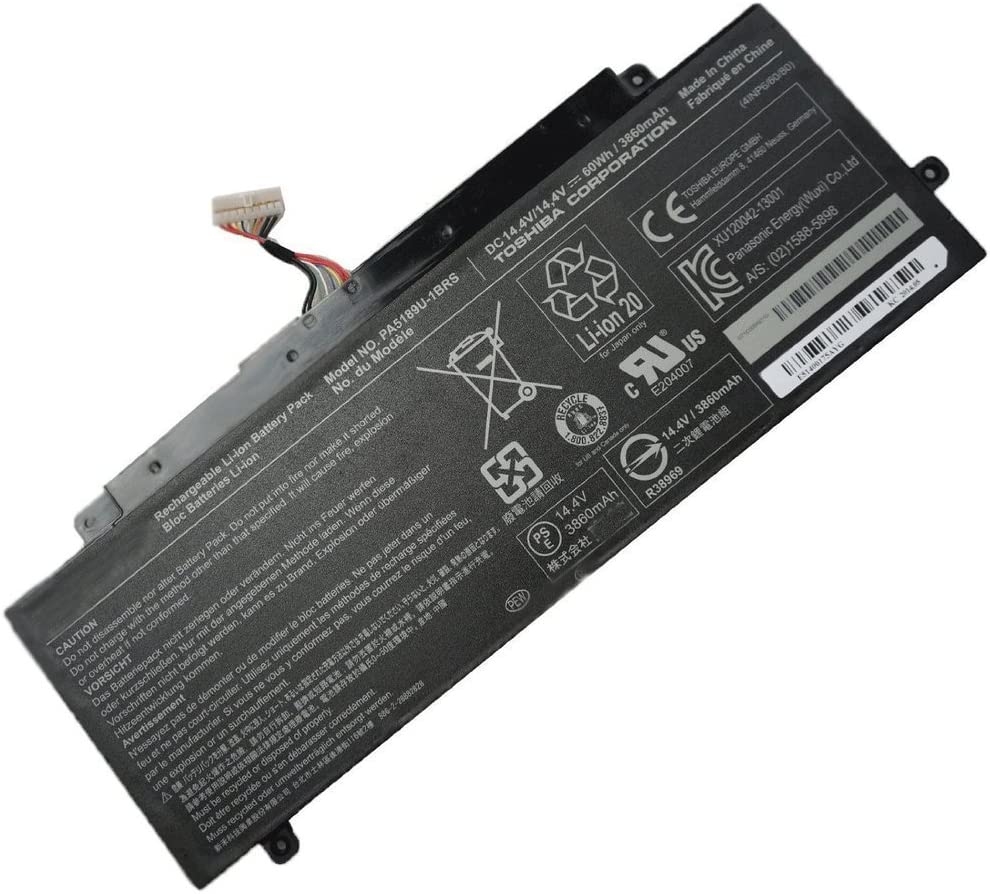 Batterymarket PA5189U-1BRS Replacement Battery Compatible with Toshiba Satellite P55W-B P55W-B5224 P50W-B Satellite P55W-B5220-14.4V 60Wh/3860mAh