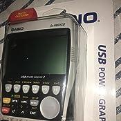 CASIO FX-9860GII Calculadora Gráfica 1.5MB, Gran pantalla: Amazon ...