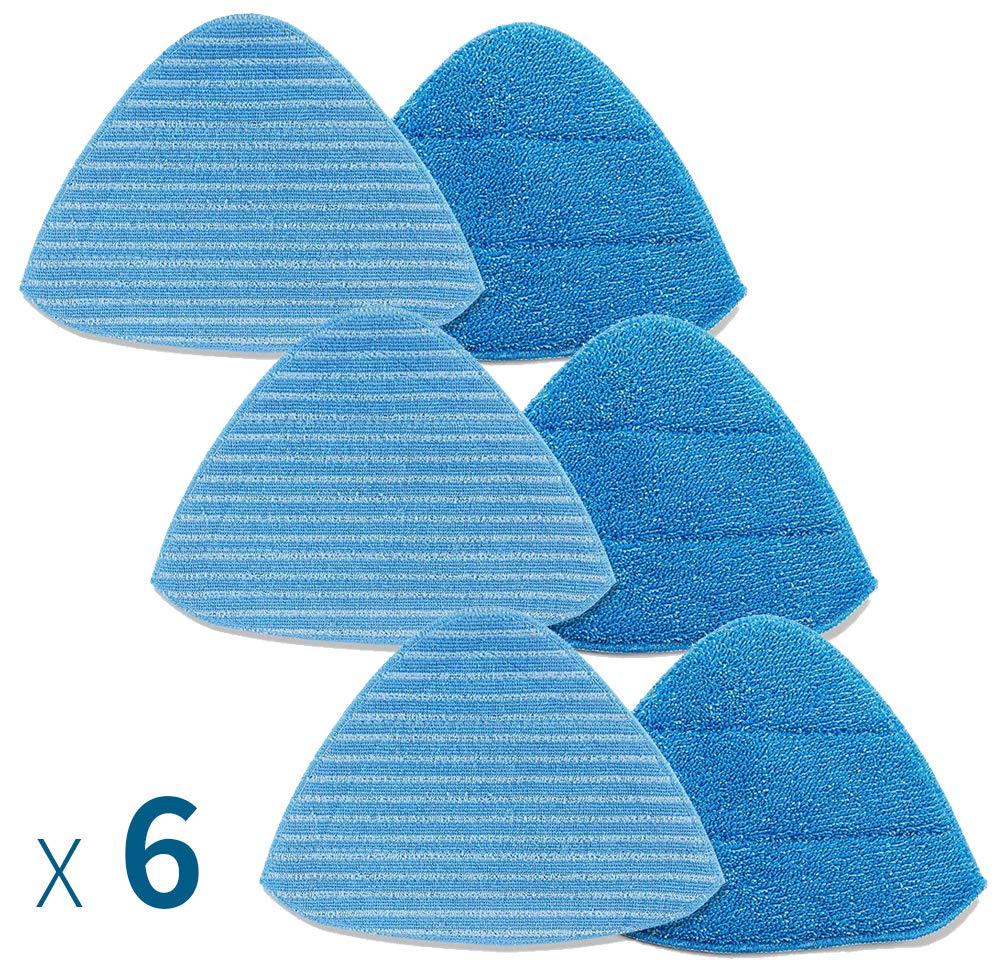 Neatec Steam Mop Fiber Cloth 6 pieces for EUM33B, EUM33C, EUM18B, EUM18C, EUM18G, EUM18P