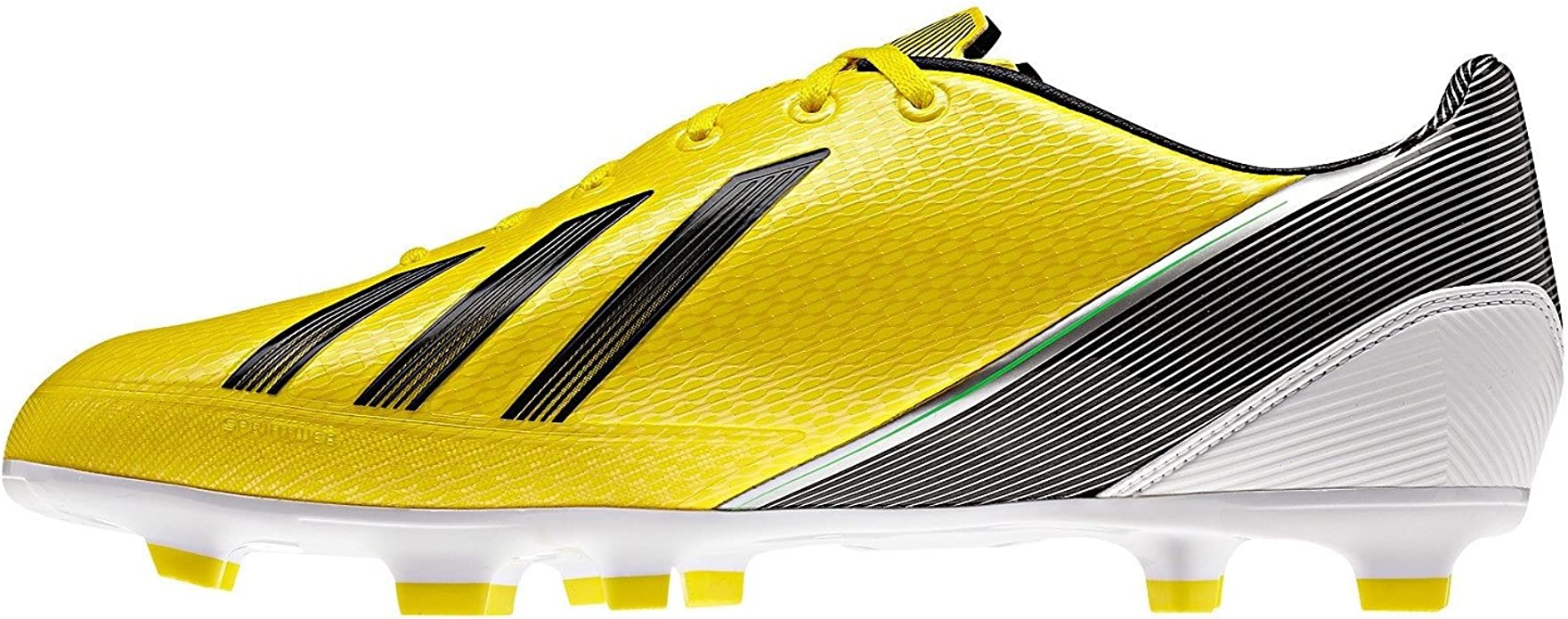 Adidas F30 TRX FG G65383 Yellow//Black//Green//White Synthetic Men/'s Soccer Cleats