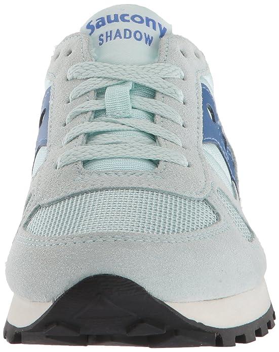 Amazon.com | Saucony Originals Mens Shadow Original Running Shoe, Green/White | Road Running
