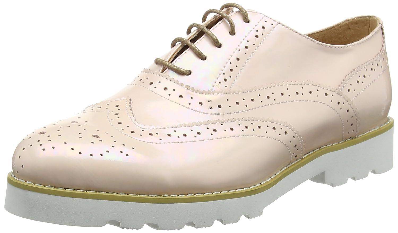 Giudecca Jycx15pr2-1 - Zapatos de Cordones Brogue Mujer 39 EU|Beige