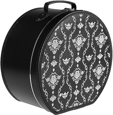 Lierys Caja para Sombrero Ornamentos Mujer/Hombre - Verano/Invierno - Talla única Negro: Amazon.es: Ropa y accesorios