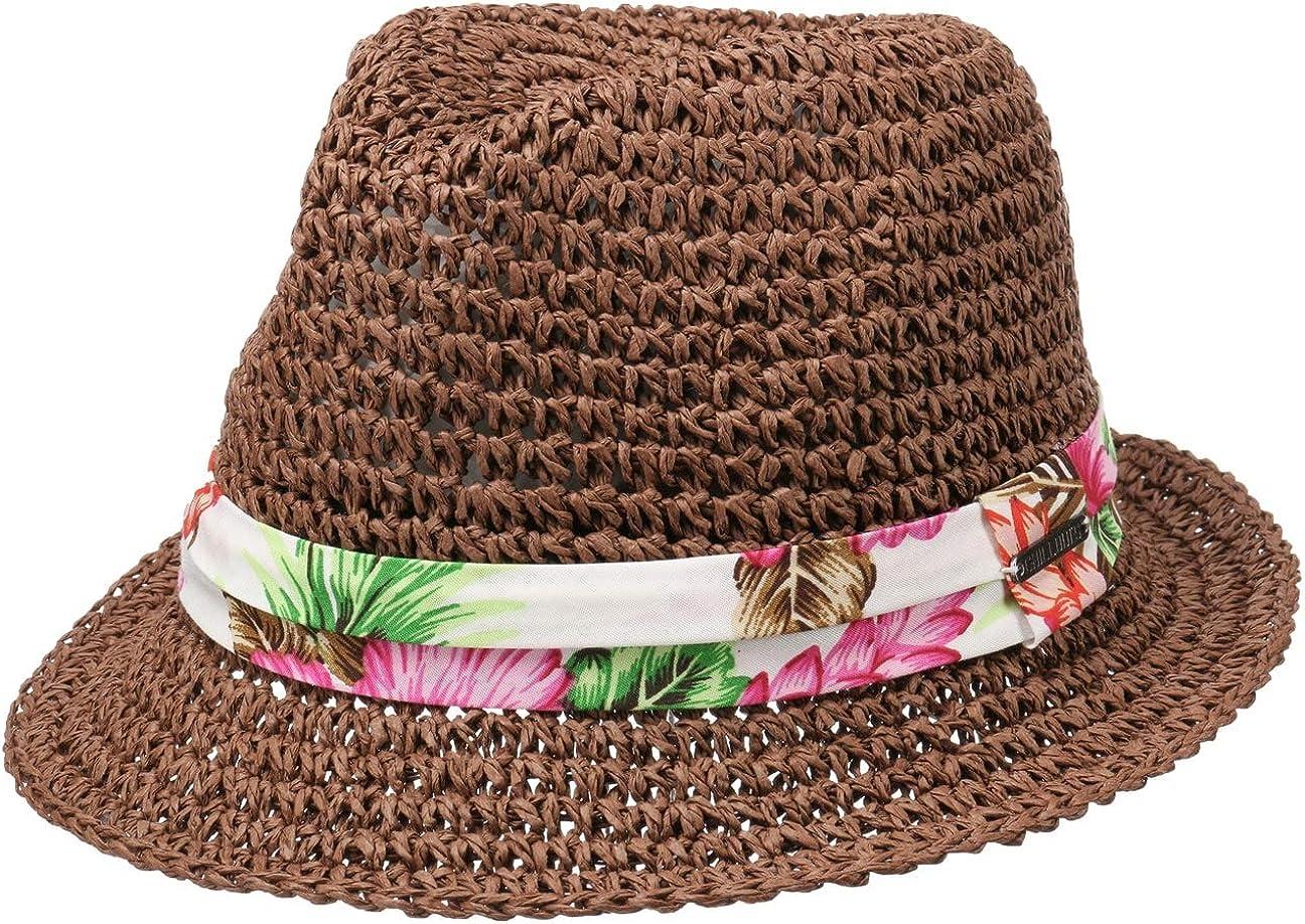CHILLOUTS Sombrero de Paja Hana Trilby Mujer
