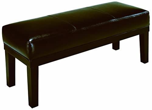 Crown Mark Barlow Bench with Bicast PVC