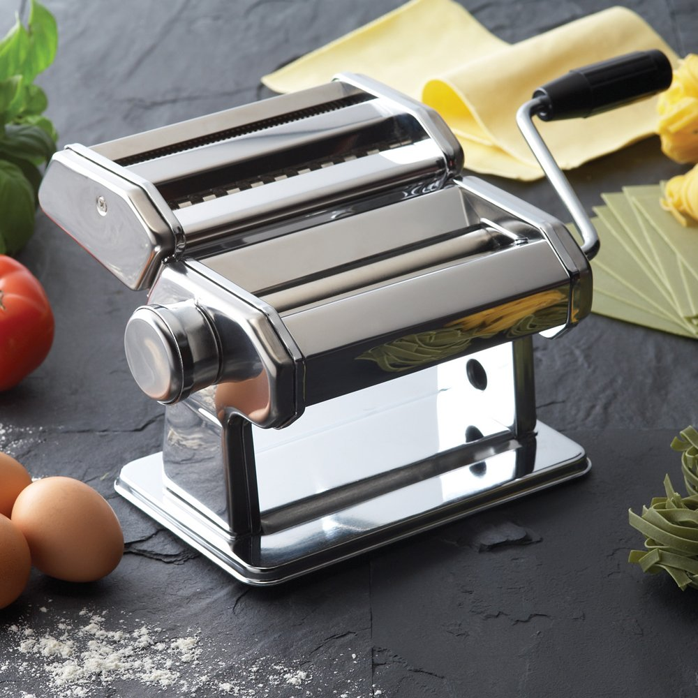 Kitchencraft World Of Flavours Stainless Steel Pasta Machine Amazon Spaghetti How Do I Wire This Switch Page2 Doityourselfcom Kitchen Home