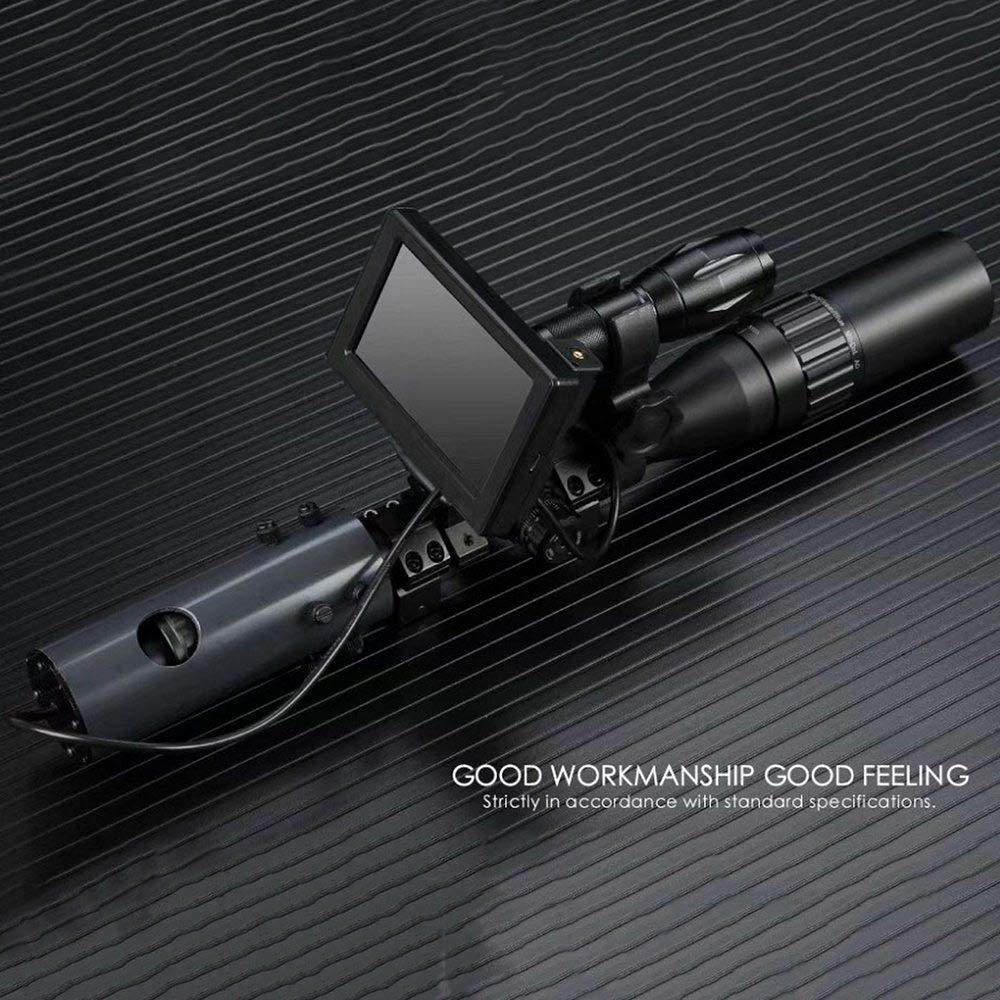 LED IR Night Vision Scope Cameras,Binoculars Telescopes /& Optics Wildlife Cameras HD Eyepiece Large Display Perfect for Outdoor Observation