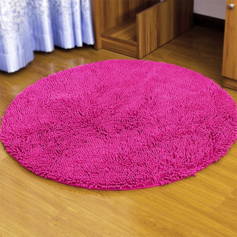 Romote Rojo del Coraz/ón Mullido Suave Microfibra Chenilla Alfombra de Ba/ño Dormitorio de la Estera de la Alfombra