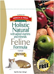 Bench & Field Cat Food Holistic