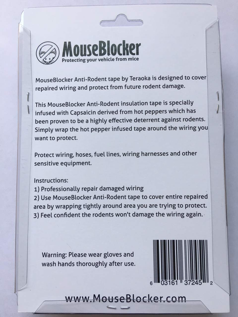 Mouse Blocker Anti Rodent Insulated Repair Tape Or Wrap Electrical Wiring Harness The Deterrent Pros Use Garden Outdoor