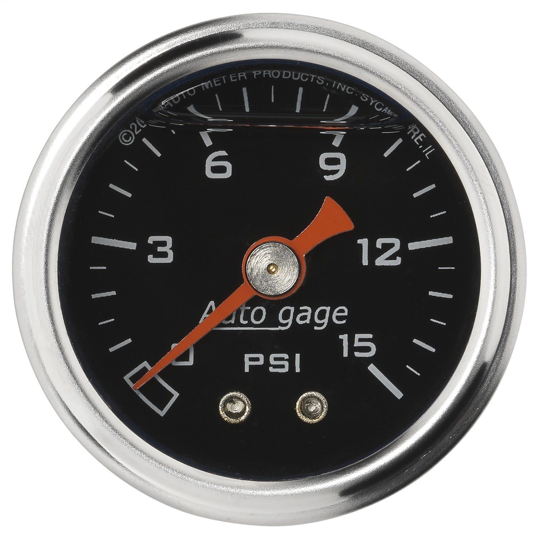 Auto Meter 2172 Autogage Fuel Pressure Gauge by Auto Meter