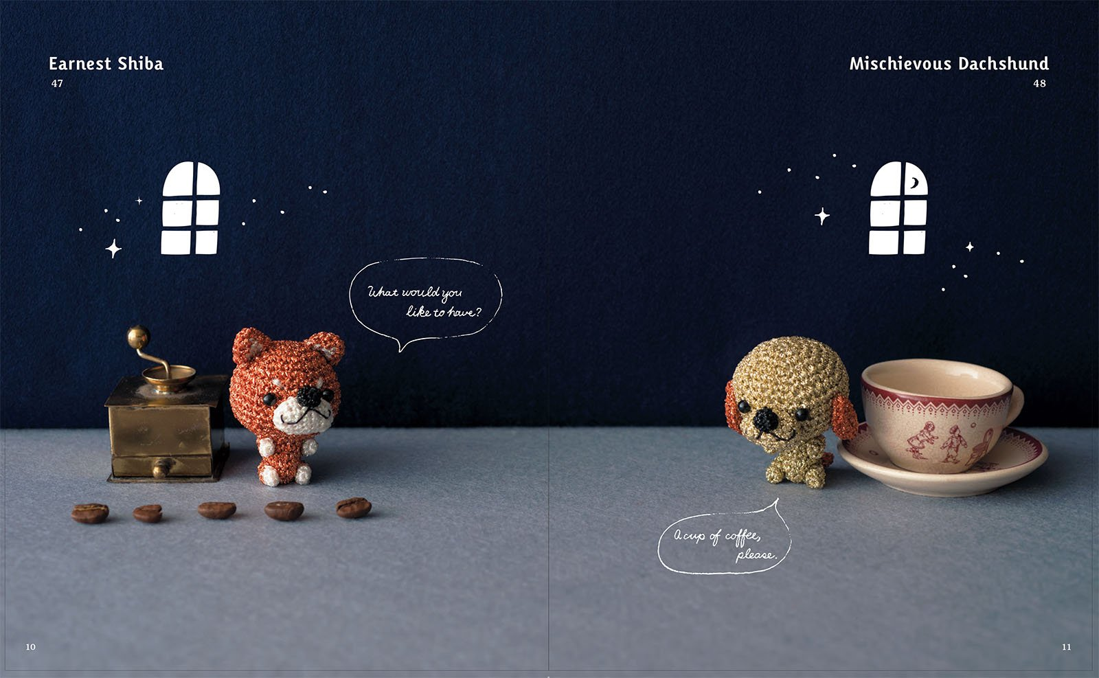 Amigurumi Animals To Make : Sparkling crochet make amigurumi animals with yarn that glitters
