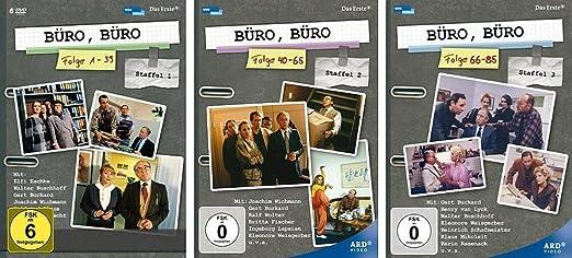 Buro Buro Komplett Staffel 1 2 3 Folge 1 85 13 Dvds Amazon