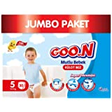 Goon Mutlu Bebek Külot Bez, 5 Beden, Jumbo Paket, 30 Adet, Beyaz