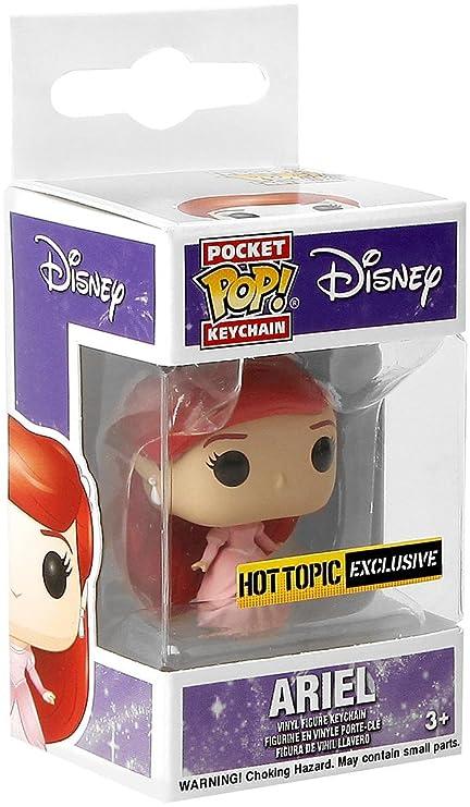 Amazon.com: POCKET POP Funko Disney The Little Mermaid Ariel ...