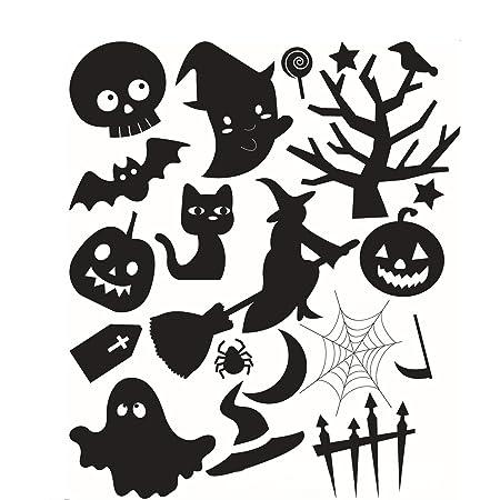 Wall etiqueta engomada de Halloween Tatuajes de pared Etiqueta de ...