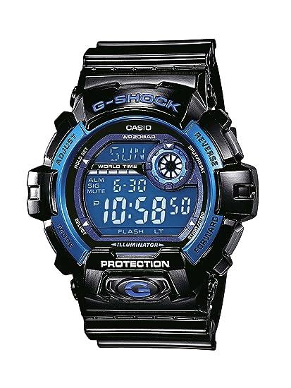 Casio Reloj Digital para Hombre de Cuarzo con Correa en Resina G-8900A-1ER   Amazon.es  Relojes d082db6ad759