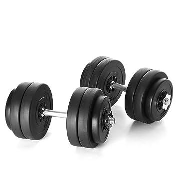 Kinetic Sports DBS30 - Juego de mancuernas (30 kg, 8 de 2,5 kg, 4 de 1,25 kg): Amazon.es: Deportes y aire libre