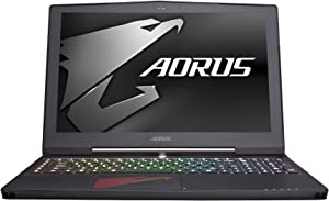 "AORUS X5 v7-KL4K3D 15.6"" UHD IPS i7-7820HK GTX 1070 GDDR5 8GB VRAM 8Gx2 DDR4 RAM NVMe PCIe 256GB SSD 1TB HDD Win10 Slim and Light Full Aluminum Gaming Notebook"
