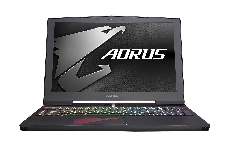 "Aorus X5 v7-KL3K3D 15.6"" Notebook IPS WQHD+ 7th Gen Intel i7-7820HK, GeForce GTX 1070 8GB, 16GB DDR4, 256GB SSD Win 10 Slim and Light Gaming Laptop"