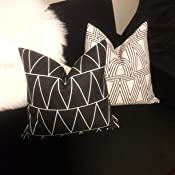 Amazon.com: Paquete de 4 fundas de almohadón de ...